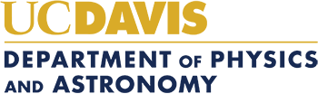 Department of Physics and Astronomy - UC Davis